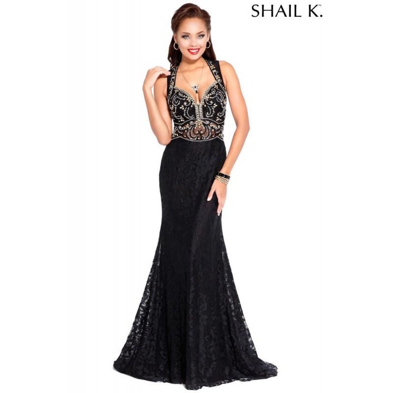 Hochzeit - Black Shail K. 3969 SHAIL K. - Rich Your Wedding Day