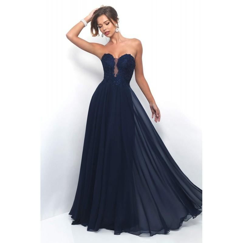Wedding - Style 11234 by Blush by Alexia - Chiffon Floor Sweetheart  Plunge  Strapless Occasions - Bridesmaid Dress Online Shop