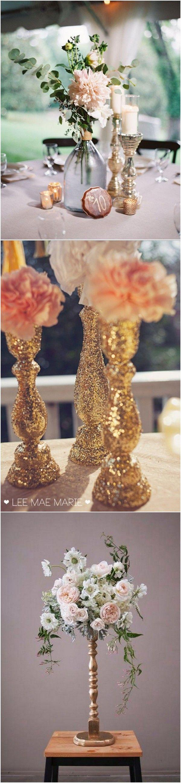 Boda - Trending-18 Outstanding Wedding Centerpieces With Candlesticks - Page 2 Of 3