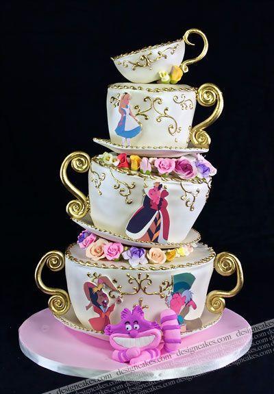 Boda - Disney Cakes