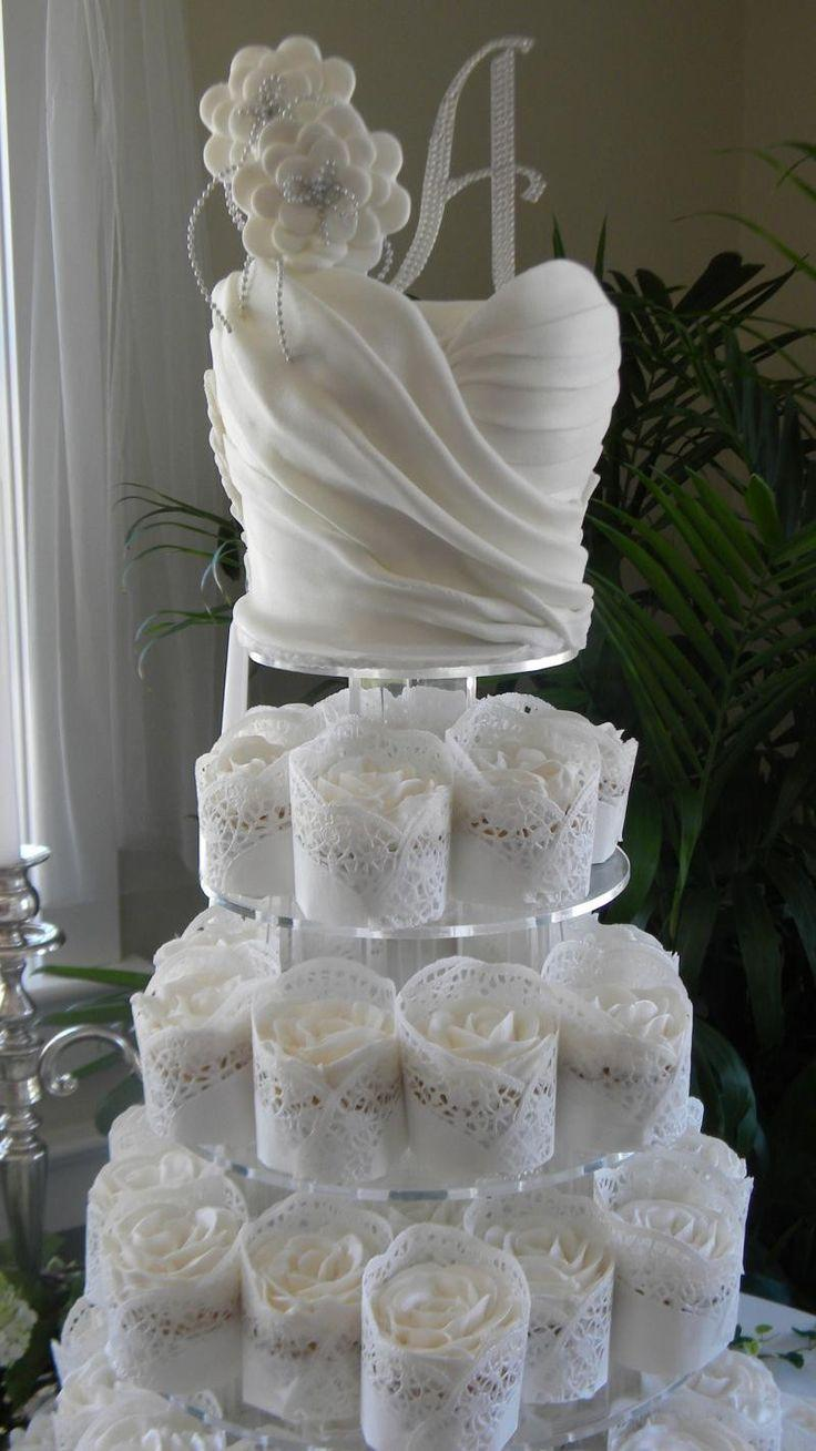 Wedding - Bridal Shower Cupcakes