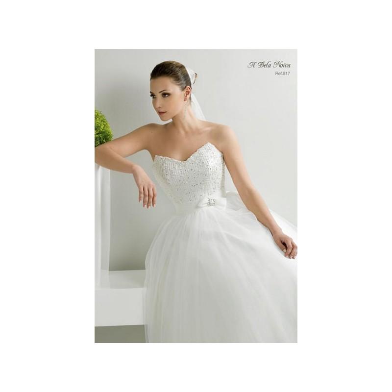 Boda - Vestido de novia de A Bela Noiva Modelo 917 - Tienda nupcial con estilo del cordón