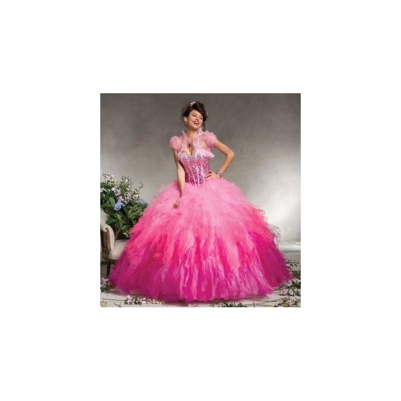 Boda - Vizcaya 88078 Ombre Ruffle Quinceanera Dress - Brand Prom Dresses