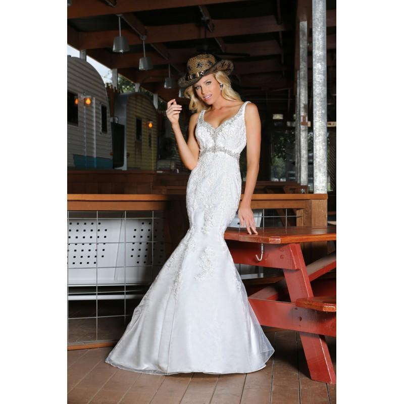 Wedding - Da Vinci 50312 - Stunning Cheap Wedding Dresses