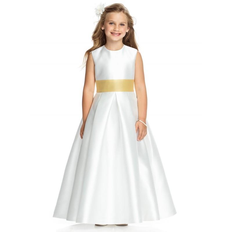 Wedding - Dessy Flower Girl Dresses - Style FL4037 - Formal Day Dresses