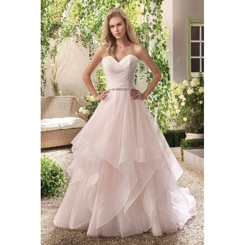 Wedding - Style F191004 by Jasmine Collection - Ivory  White  Champagne  Blush  Pink Tulle Floor Sweetheart  Strapless Wedding Dresses - Bridesmaid Dress Online Shop