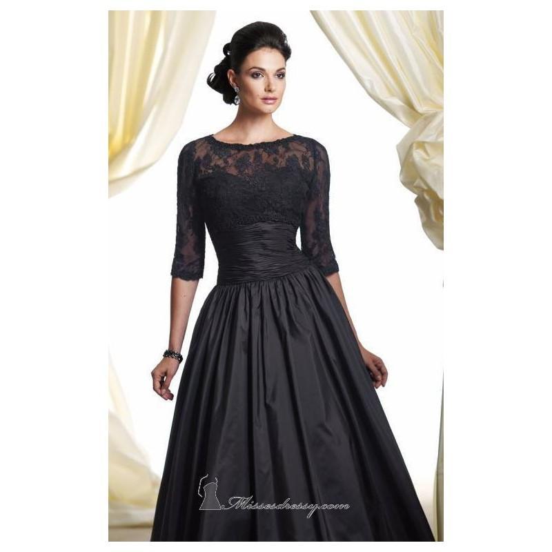 Свадьба - Pleated A-Line Skirt Gown by Mon Cheri Montage Boutique 113951 - Bonny Evening Dresses Online
