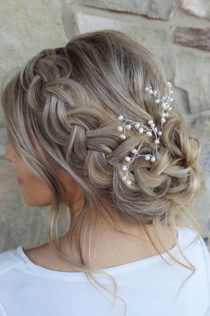 Hochzeit - Beautiful Wedding Hairstyle Inspiration
