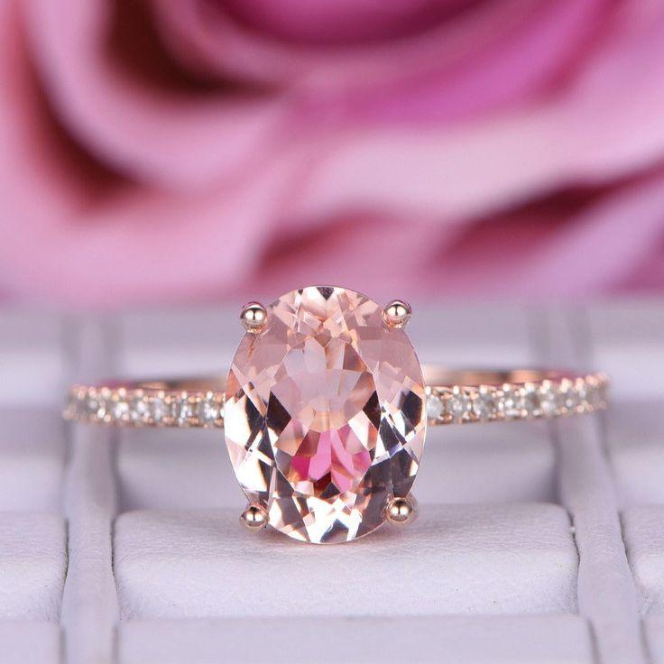 Wedding - Popular Morganite Engagement Rings