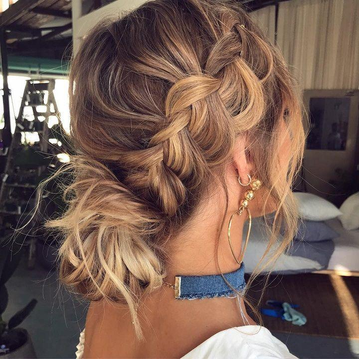 Hochzeit - Beautiful Boho Hairstyles To Inspire Your Big Day Look