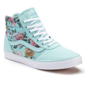 Shoe , Vans Milton Women\u0027s High,Top Skate Shoes 2769875