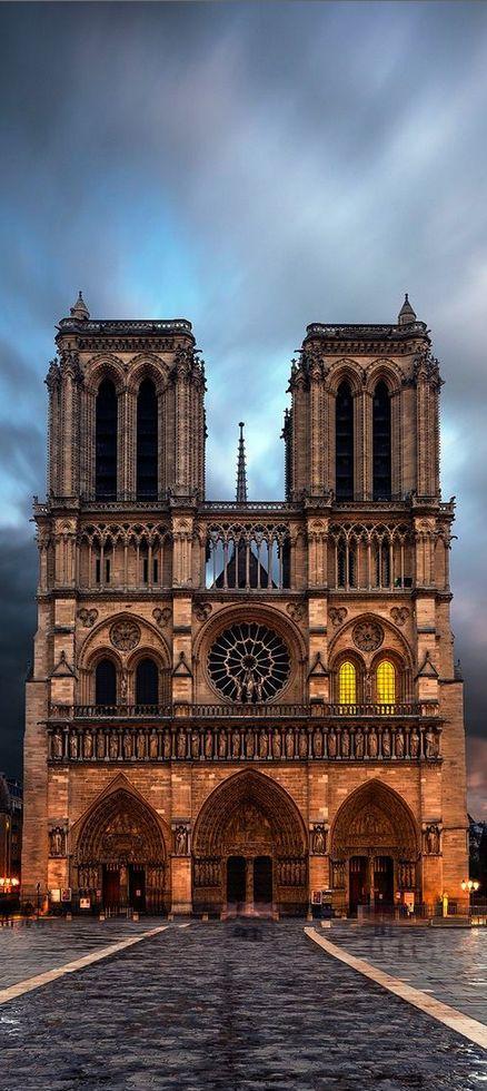 Свадьба - Notre Dame, Paris