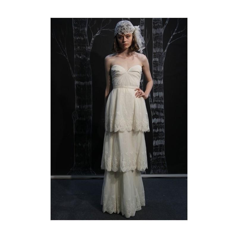 Mariage - Sarah Seven - Spring 2013 - Strapless Three-Tiered A-Line Wedding Dress - Stunning Cheap Wedding Dresses