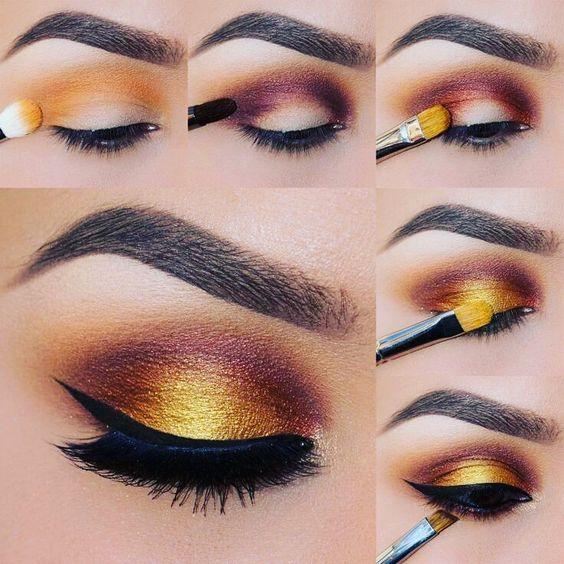 Свадьба - Sunset Eyeshadow