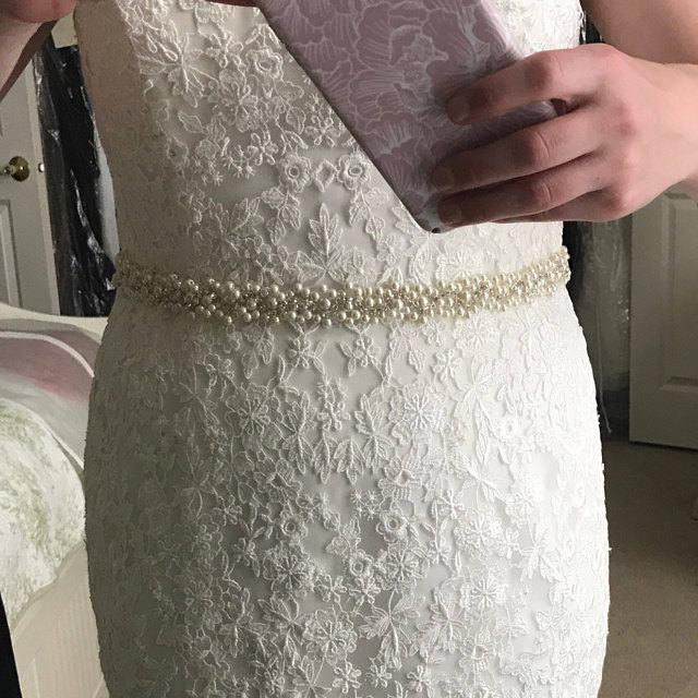 Mariage - Wedding Belt Sash/ Bridal Rhinestones Sash, Pearl belt, Wedding accessories