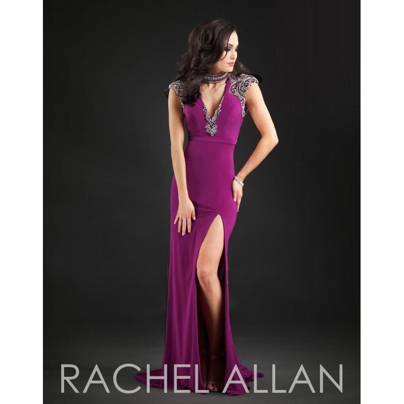 Wedding - Deep Magenta Rachel Allan Couture 8102 Rachel ALLAN Couture - Rich Your Wedding Day