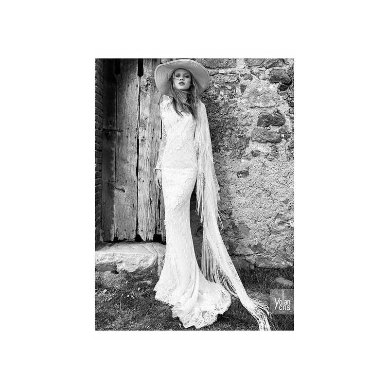 Vestido De Novia De Yolancris Modelo Monterrey 2015 Sirena