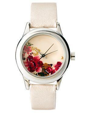 Wedding - Accessorize Ladies Floral Print Watch