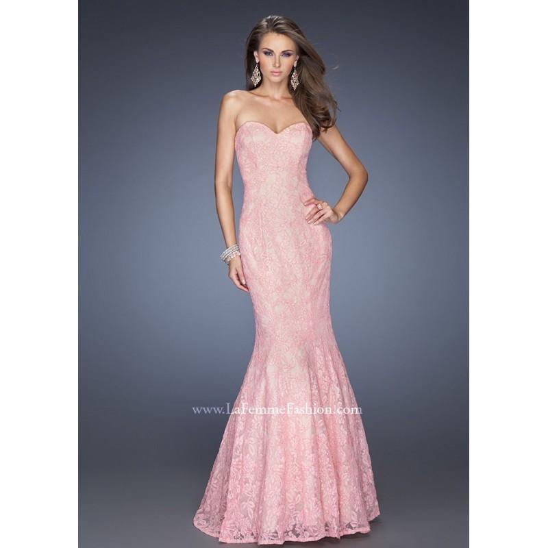 Свадьба - La Femme 20047 Elegant Lace Dress Website Special - 2017 Spring Trends Dresses