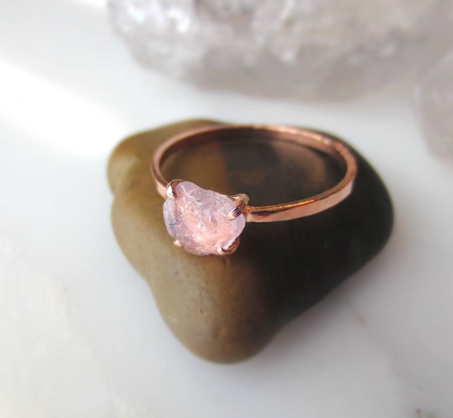 Свадьба - Raw Sapphire Ring Alternative Engagement Raw Pink Stone Ring Rough Pink Ring Raw Pink Sapphire Ring Pink Raw Ring Raw Stone Pink Ring Pink