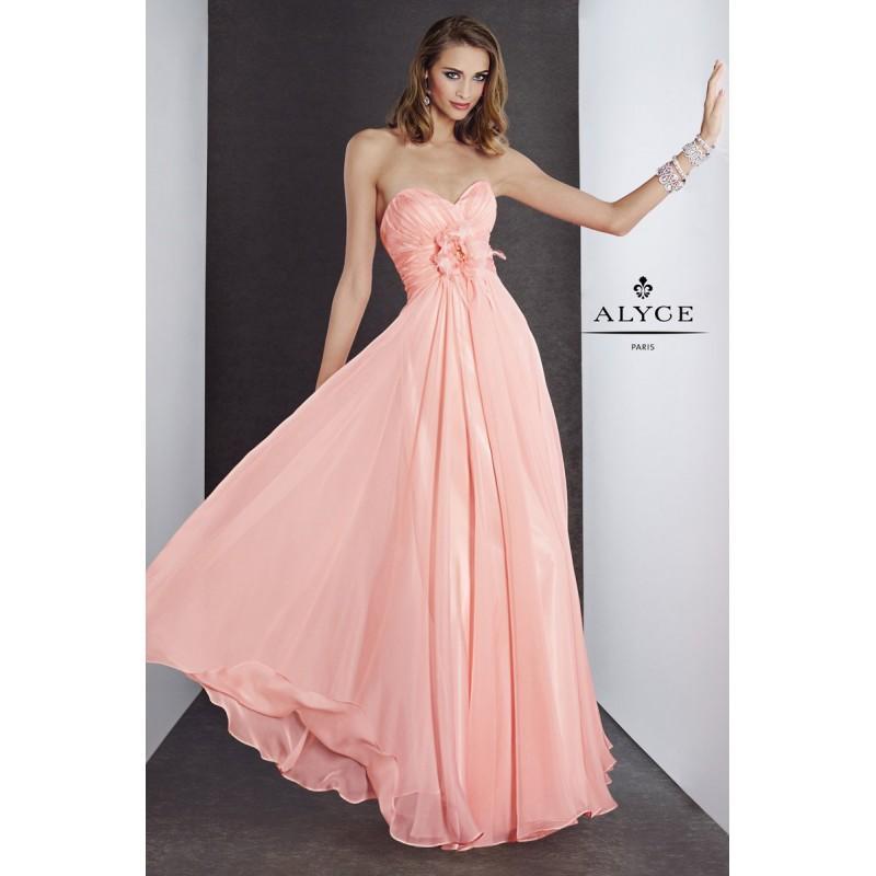 Wedding - Dreamsicle B'Dazzle by Alyce Paris 35500 B'Dazzle by Alyce Paris - Rich Your Wedding Day