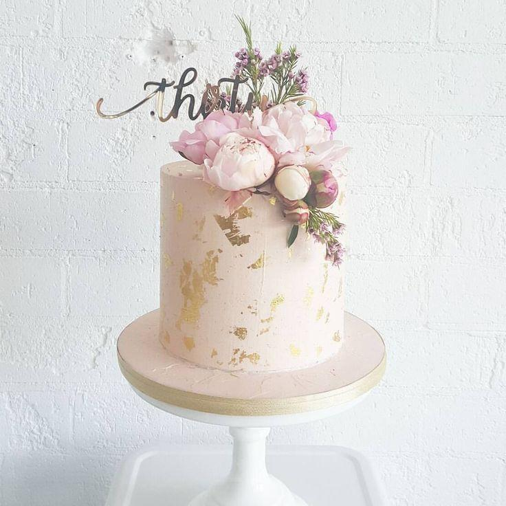 Cake - Gold Leaf Cake #2771880 - Weddbook
