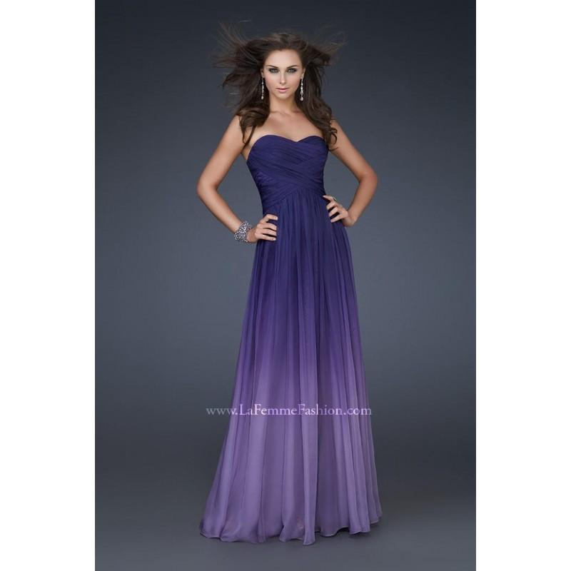 Wedding - Majestic Purple Sugarplum La Femme 17004 La Femme Prom - Top Design Dress Online Shop