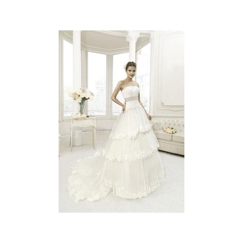Hochzeit - Vestido de novia de MKarin Modelo PT201434 - 2013 Princesa Palabra de honor Vestido - Tienda nupcial con estilo del cordón