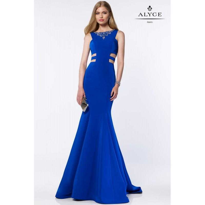 Свадьба - Sapphire Alyce Prom 8006 Alyce Paris Prom - Top Design Dress Online Shop