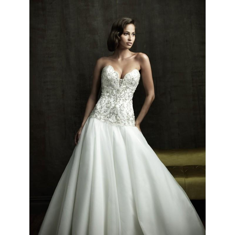Allure Bridals 8818 Tulle Ball Gown Wedding Dress - Crazy Sale ...