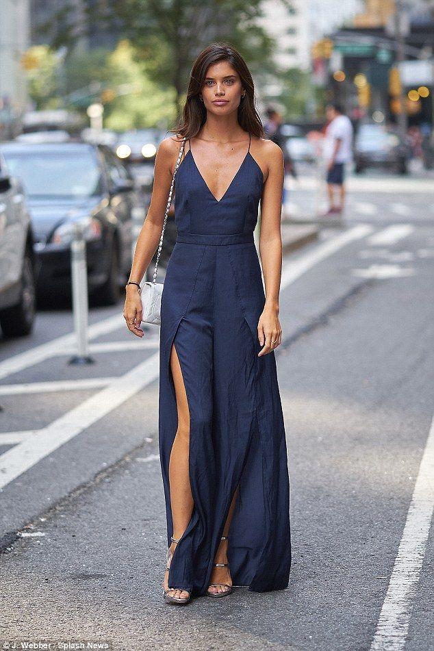 Wedding - Sara Sampaio Looks Leggy At Victoria's Secret Fashion Show Fittings