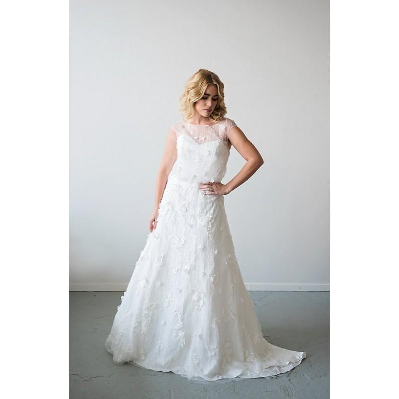 زفاف - The JANAE wedding dress - Hand-made Beautiful Dresses