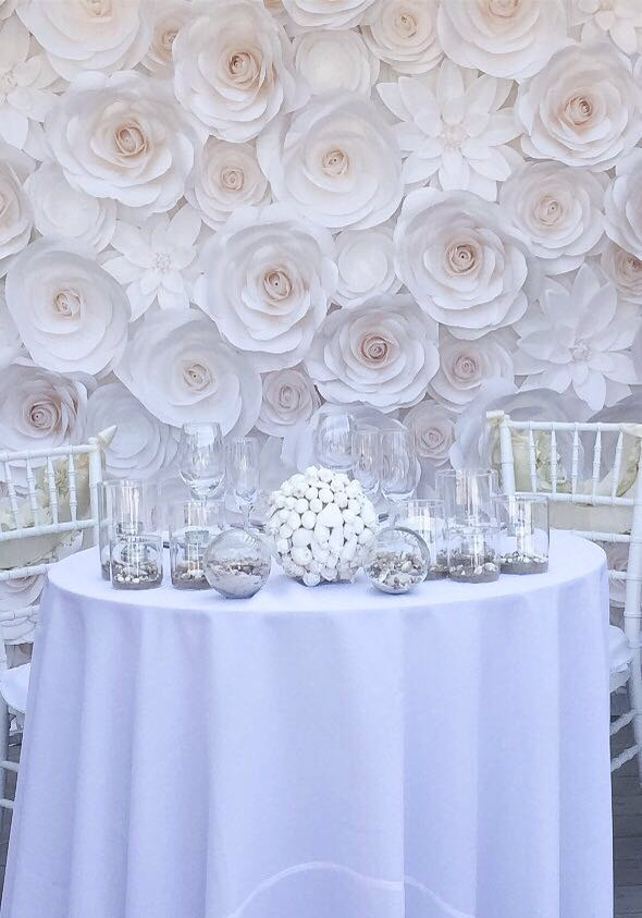 Large paper flowers wedding backdrop paper flower backdrop large paper flowers wedding backdrop paper flower backdrop wedding decoration mightylinksfo