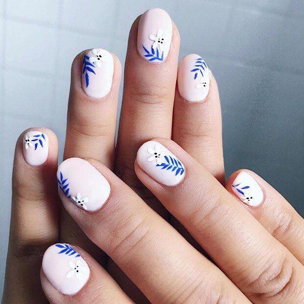 زفاف - Simple Nail Art