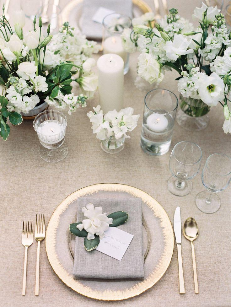 Wedding - Gorgeous White Wedding Inspiration