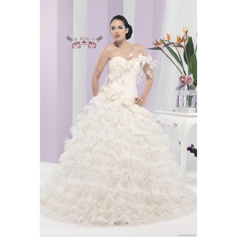 Hochzeit - Angelo Bianca 012-6 Angelo Bianca Wedding Dresses Eden - Rosy Bridesmaid Dresses