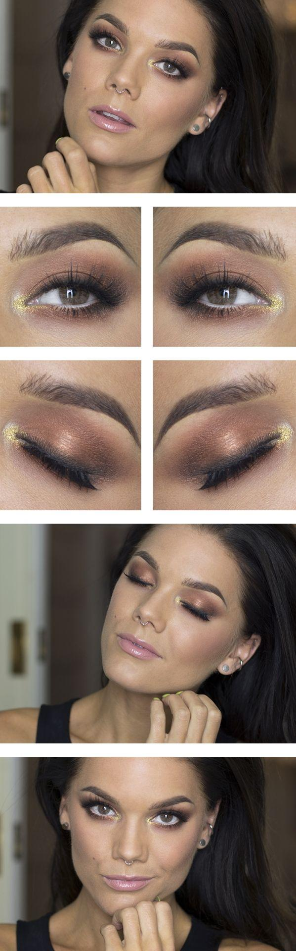 Hochzeit - Mauva Eyes With A Hint Of Gold