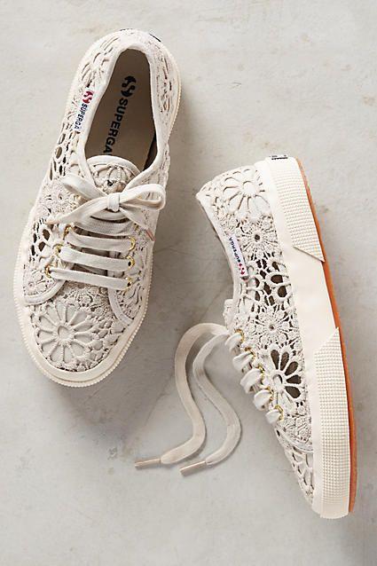 Shoe - Superga Macrame Sneakers