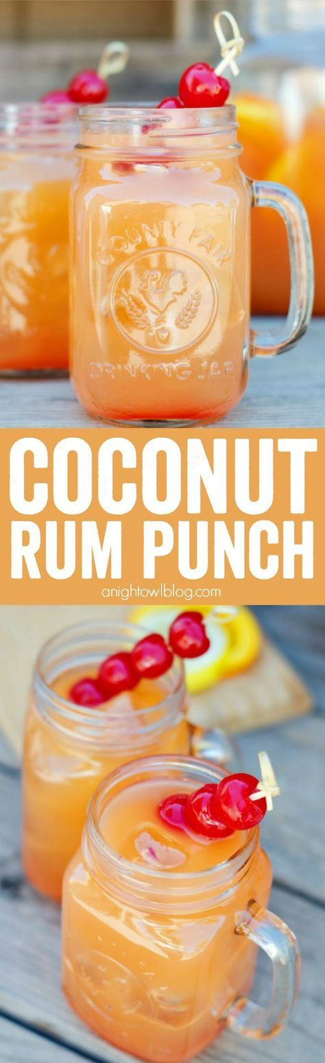 Wedding - Coconut Rum Punch