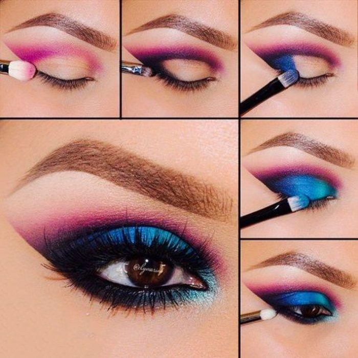 Dramatic eye makeup tutorial