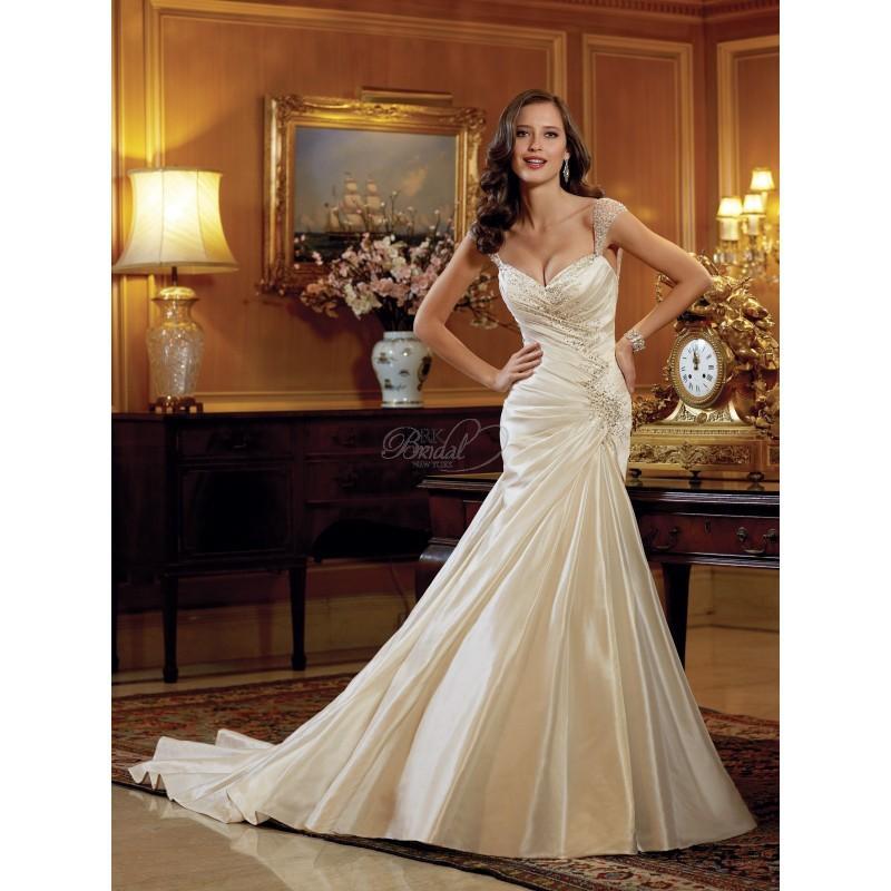 Wedding - Sophia Tolli Bridal Spring 2014 - Y11412 Meera - Elegant Wedding Dresses