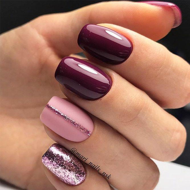 Nagel - 39 Must Try Fall Nail Designs And Ideas #2774436 - Weddbook