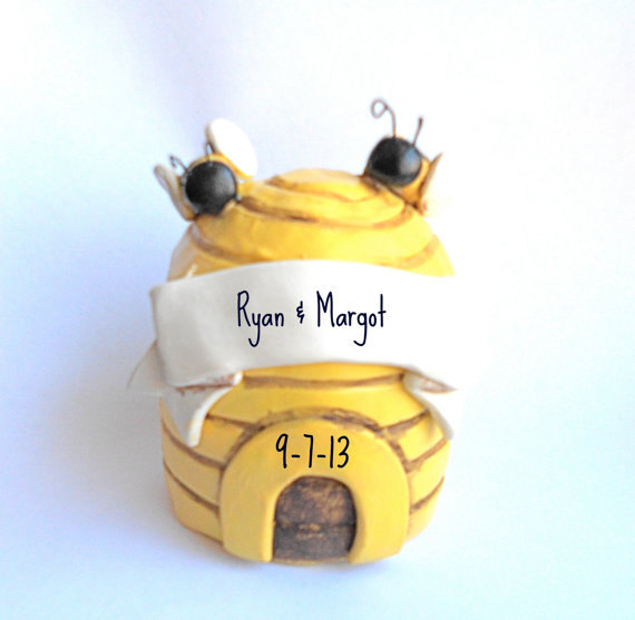 Decor - Sweet Honey Bee Wedding Cake Topper #2774454 - Weddbook