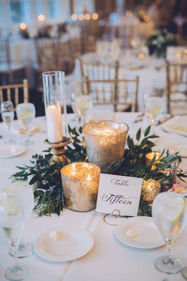 Свадьба - 20 Perfect Centerpieces For Romantic Winter Wedding Ideas