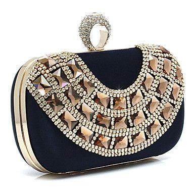 Wedding - Elegant Silk With Crystal Wedding/Special Occasion Evening Handbag/Clutches(More Colors) Reviews
