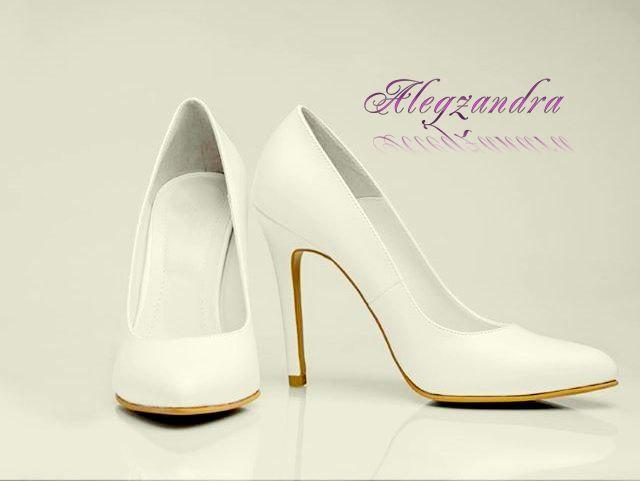 4f811d328610 White Bridal Shoes