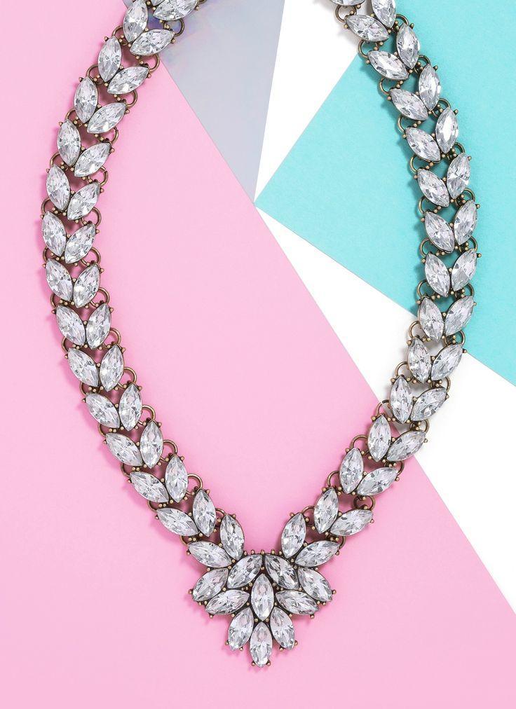 Mariage - Garland Brooch Collar