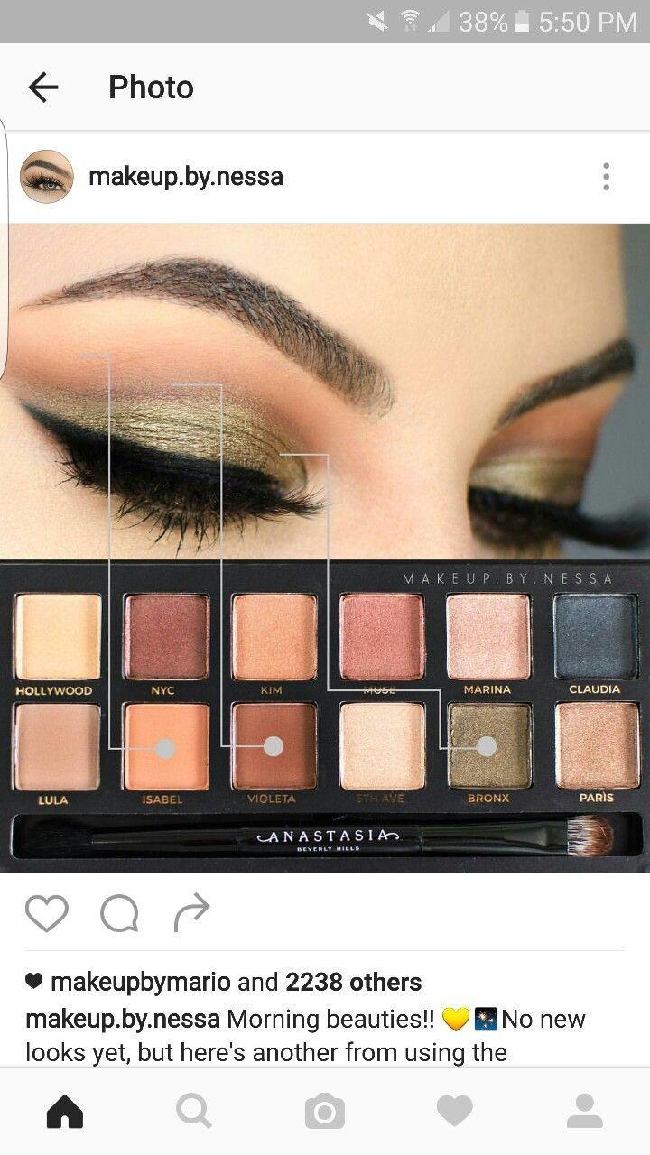 Свадьба - Green Eye Makeup