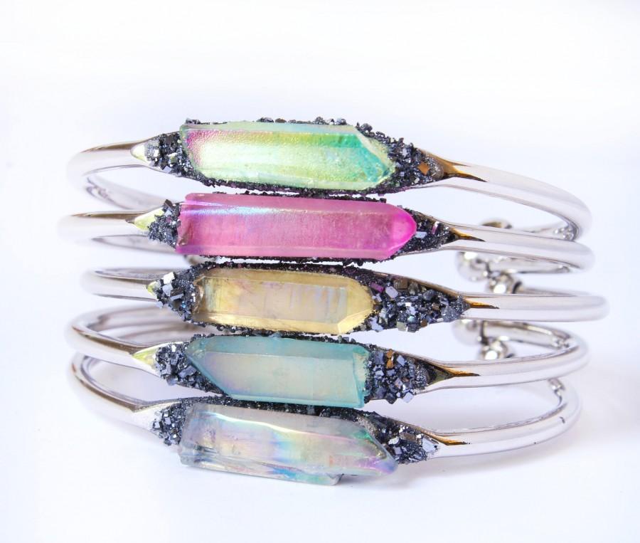 زفاف - Crystal Jewelry Set for Bridesmaids, Bridesmaid Crystal Jewelry, Jewelry for Bridesmaids, Bracelets for Wedding, Boho Beach Wedding Jewelry