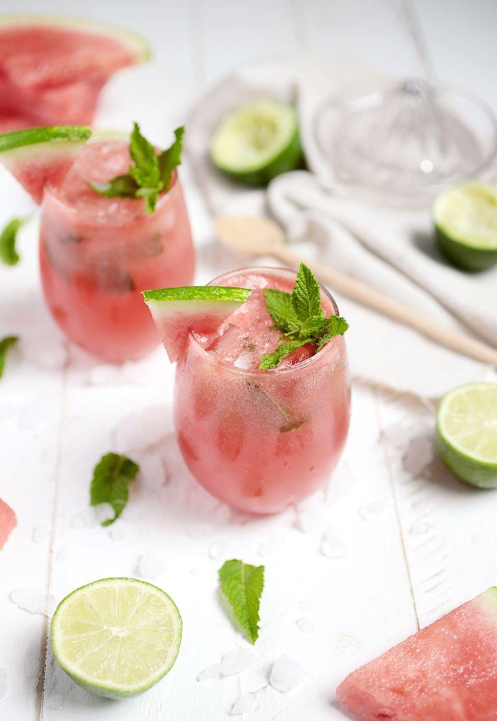 Boda - Watermelon Mojito Mocktail (The Merrythought)